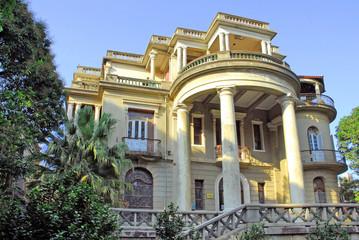 Xiamen, old Portuguese house facade