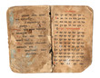 Medieval old book