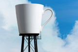 Giant Coffee Mug Reservoir Tower