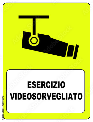 Esercizio video sorvegliato
