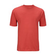 Red T-shirt template (isolated on white, clipping path)