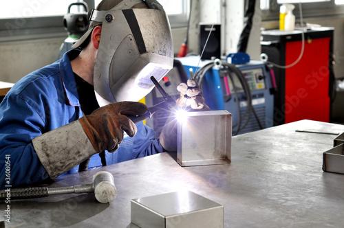 Industrie Facharbeiter