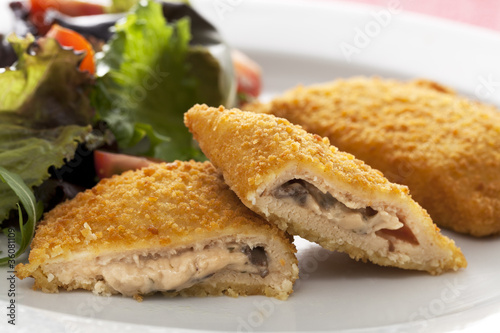 Vegetarian Cordon Blue