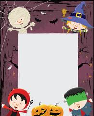 Halloween Kid's Message