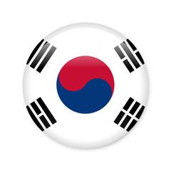 Südkorea - Button