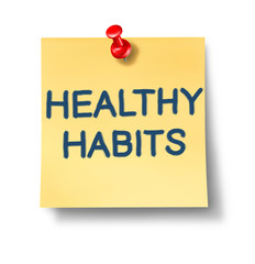 Healthy habits office notes