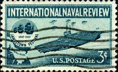International Naval Review. Jamestown Festival. 1607-1957.
