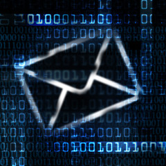 electronic mail and binary code