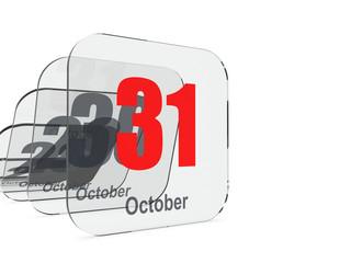 31 October - month end