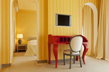interior suite  luxury hotel