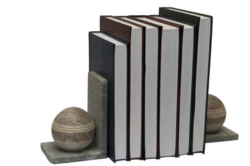 books in book self holder