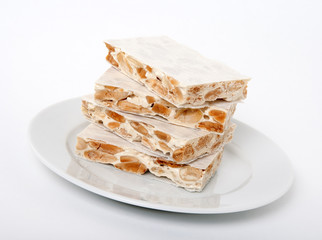 Turron, traditional Spanish dessert