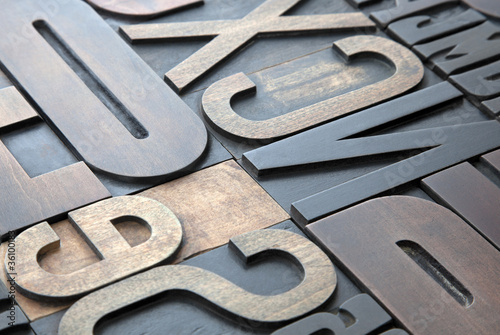 Letterpress background