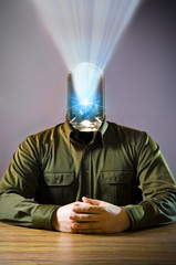 LED man