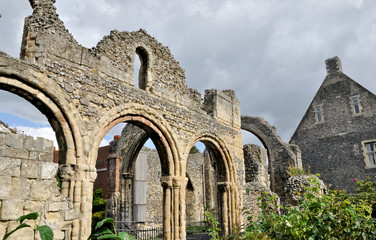Ruins at Canterbury
