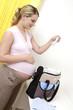 femme grossesse layette