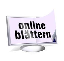 online blättern pc monitor app smartphone