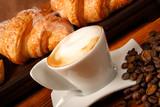Fototapety Cappuccino e brioches