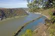 Blick von der Loreley auf den Rhein (Sankt Goarshausen)