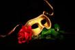 Leinwandbild Motiv Golden Mask