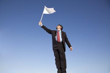 White flag for surrender