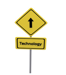 Technology  Road Sign