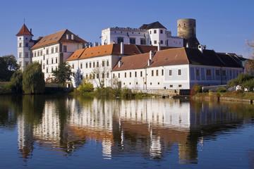 Jindrichuv Hradec Castle, Bohemia, Czech Republic