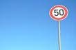 Verkehrsschild ''50''