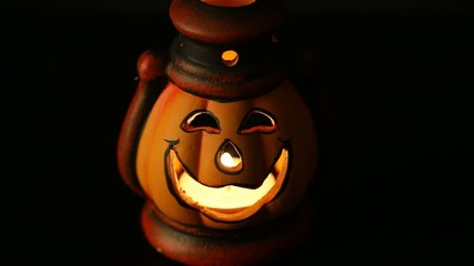 Video pumpkin lantern