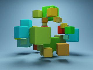 Design of abstract cubes