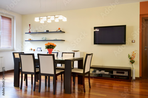 Modern dining room apartment