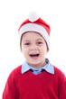 amazed christmas child