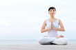 Yoga relax and meditation