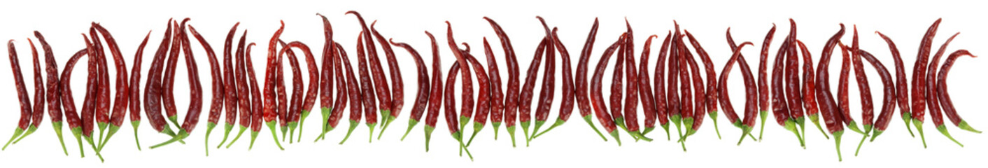 peppers big border isolated