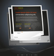 Modern web site design template