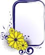 Fototapete Vektor - Floral - Hintergrund