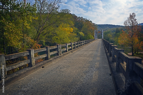 Old Bridge & Fall Foliage