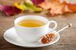 Teetasse und Kandis