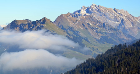 alpes en octobre