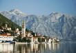 Leinwandbild Motiv perast in kotor bay montenegro