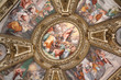 Rome church art - Basilica Santa Maria in Trastevere