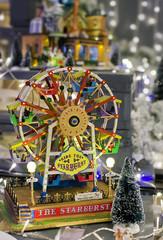 Gioco ruota panoramica Natale