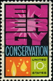 Energy Conservation. US postage.