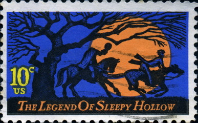 The legend of sleepy Hollow. Us Postage.