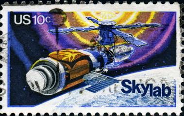Skylab. US Postage.