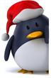 Pingouin et noël