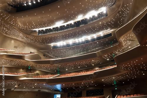 Papiers peints Opera, Theatre Modern theatre interior