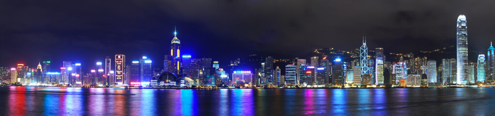 Hong Kong Hongkong Skyline Panorama