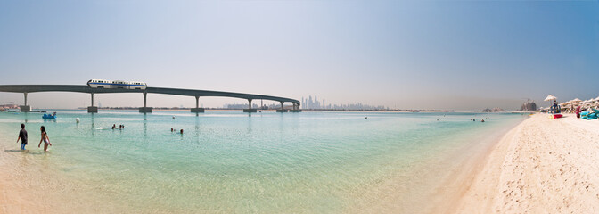 Dubai Palm Jumeirah privat Beach