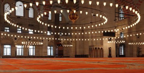 Suleimaniye Ottoman Mosque, Istanbul, Turkey